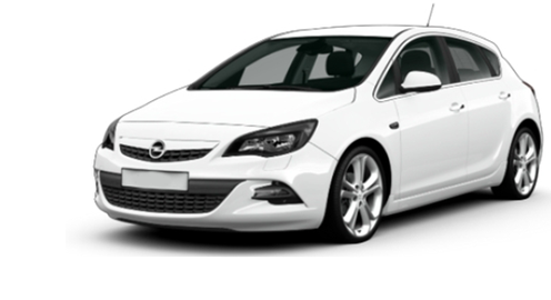PARAFANGO ANT. SX/DX OPEL ASTRA J MOD. DAL 2009